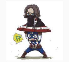 Steve and Bucky by LilyCat2491