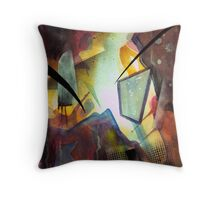 """Debris"" Throw Pillow"