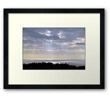 Rays............ Framed Print