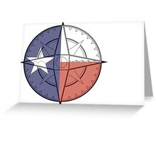 Texas Compass Greeting Card