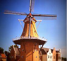 Vermeer Windmill by Linda Miller Gesualdo
