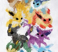 Eeveelutions by Melissa Smith