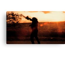 Texas Chainsaw Massacre - Swing 2 Canvas Print