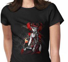 Terra Darkness Red Tribal Tattoo Fairy Womens Fitted T-Shirt