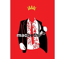 Macbeth Photographic Print