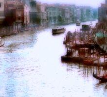 A Venice Morning Sticker