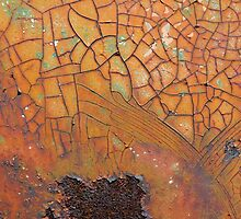 Rust #11 - fine art macro photography by Deb Richardson
