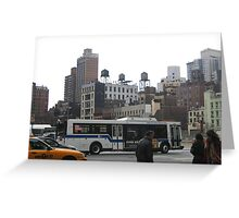 East 59th Street and Third Avenue,New York City Greeting Card