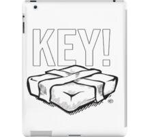 KEY! Brick Logo iPad Case/Skin