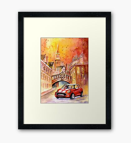 Oxford Authentic Framed Print