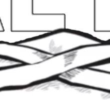 KEY! Brick Logo Sticker
