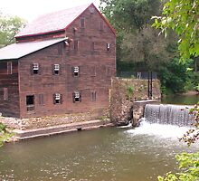 Pine Creek Grist Mill at Wildcat Den by Christine Grothe