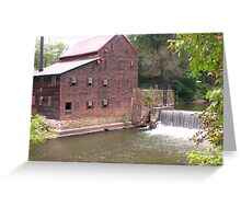Pine Creek Grist Mill at Wildcat Den Greeting Card