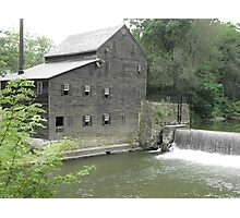Pine Creek Grist Mill at Wildcat Den Photographic Print