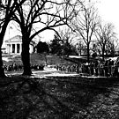 Arlington National Cemetery December 1963 by Rick Gold