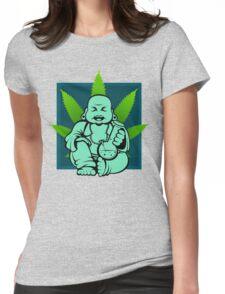 Buddha bong  Womens Fitted T-Shirt