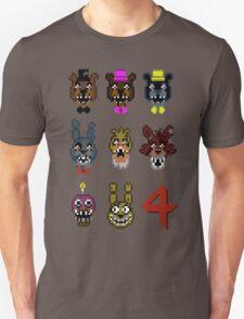5 Nightmarish Nights at Freddy's T-Shirt