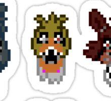 5 Nightmarish Nights at Freddy's Sticker