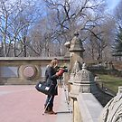 Photographer at Work in Central Park by Patricia127