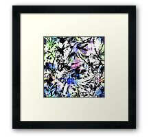 Brush Stroke 1 Framed Print