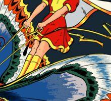 Mary Marvel #5 Digital Reconstruction Sticker