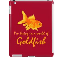 A world of Goldfish iPad Case/Skin