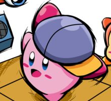 B-boy kirby Sticker