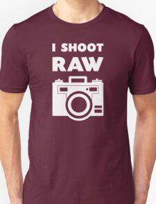 I Shoot RAW - White T-Shirt
