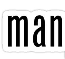 got mangu? Sticker