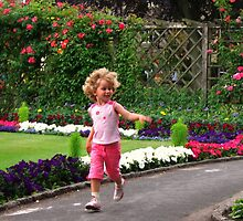 The Joys of Childhood and Summer - taken in a Park in Bakewell, Derbyshire by UGArdener
