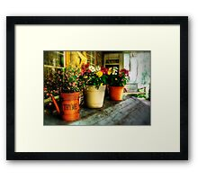 The Porch Swing Framed Print