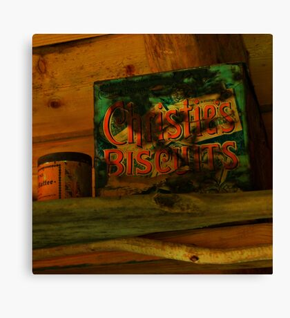 christie's biscuits Canvas Print