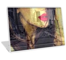 busy in the city... Laptop Skin