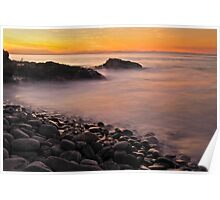 Little Wategos Beach, Byron Bay Poster