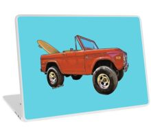 Surf Bronco Tee and Stuff from VivaChas! Laptop Skin