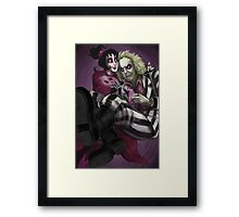Beetlejuice - The Ghost with the Most Framed Print