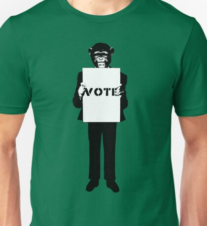 Monkey See, Monkey Do - Vote For Me! Unisex T-Shirt