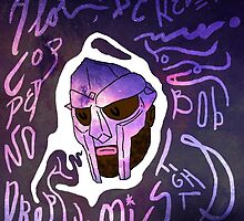 MF Doom the supervillain by Blunderful