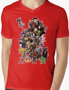 Doodle Mens V-Neck T-Shirt