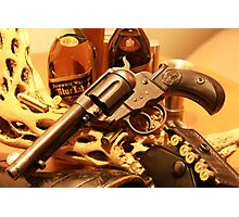 Antique Colt Lightning revolver photography Photographic Print