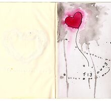 The Sketchbook Project - fly away by Dorothea Baker