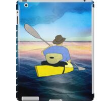 Kayak Man iPad Case/Skin