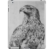 Golden Eagle Etching iPad Case/Skin
