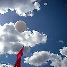 bubbles in the sky by OTBphotography
