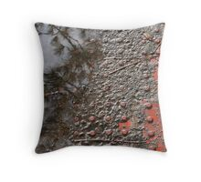 Curb Worlds Throw Pillow