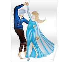 Dancing Jack and Elsa (Dancing Jelsa) Poster