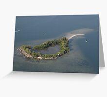 Spoil Island (BC53) Greeting Card