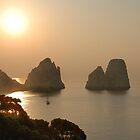 Faraglioni. Sunrise by andreisky