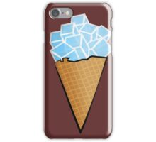 ice cold ice block iPhone Case/Skin