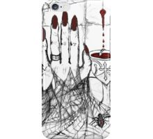 Blood, Chalice, Black Widow iPhone Case/Skin